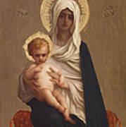 Virgin Of The Deliverance Art Print