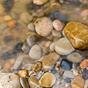 Virgin River Pebbles Art Print