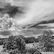 Virginia Clouds Art Print