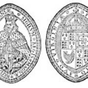 Virginia Company Seal Art Print