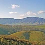 Virginia Mountains  Art Print