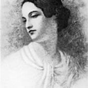 Virginia Poe Wife Of Edgar Allan Poe Art Print