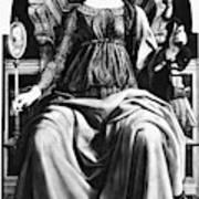 Virtues Prudence C1470 Art Print