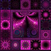 Virulent Lightwaves Redux  Art Print