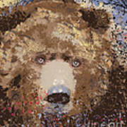 Visionary Bear Art Print