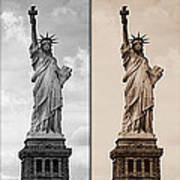 Visions Of Liberty Art Print