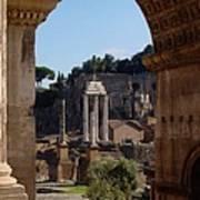 Visions Of Rome Art Print