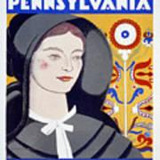 Visit Pennsylvania Art Print