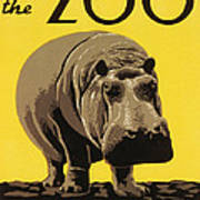 Visit The Philadelphia Zoo Art Print