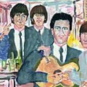 Visiting Elvis 1965 Art Print