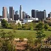 Vista Hermosa Park Los Angeles California Art Print