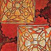 Vitrales II From The Frank Lloyd Wright A Mano Series Art Print