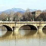 Vittorio Emanuele I Bridge Art Print