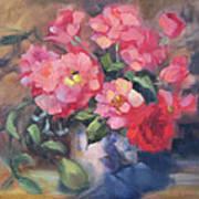 Vivacious Roses Art Print