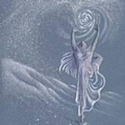 Vivaldi The Four Seasons Winter      Art Print by Elizabeth Dobbs