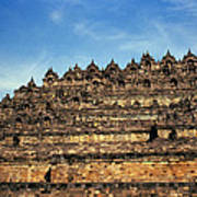 Vivid Borobudur Art Print