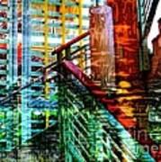 Vivid Existence-no2 Art Print