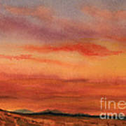Vivid Sunset Art Print