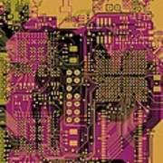 Vo96 Circuit 8 Art Print