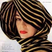 Vogue Cover Of Jean Patchett Art Print