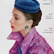 Vogue Cover Of Suzy Parker Art Print