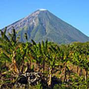 Volcan Concepcion Nicaragua Art Print