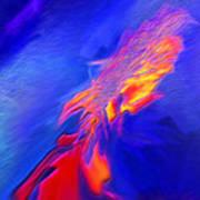 Volcanic - Abstract Art Print