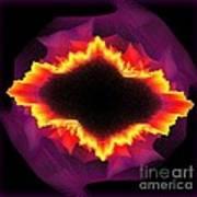 Volcanic Explosion Art Print