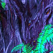 Volcanic Tree 2 Art Print