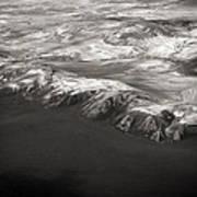 Volcano Ash Iceland Art Print