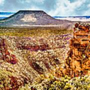Volcano At Grand Canyon Arizona Art Print
