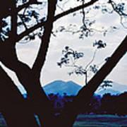 Volcano Mt. Pinatubo In Phillipines Art Print