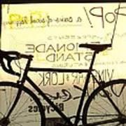 Volker Bicycles Art Print by Elizabeth Sullivan