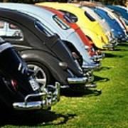 Volkswagen Line Up Art Print