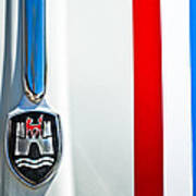 Volkswagen Vw Hood Emblem 3 Art Print
