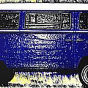 Volkswagon Microbus Art Print