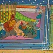 Vondelpark Chicken Art Print