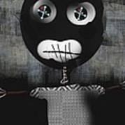 Voo Doo Doll Art Print