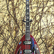 Vox Starstream Vi Guitar 1967 Art Print