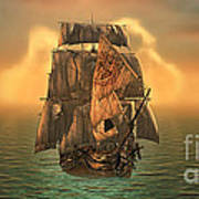 The Voyage Of The Dawn Treader Art Print
