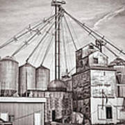 Voyces Mill Art Print