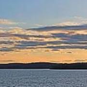 Wachusett Reservoir Sunset Art Print