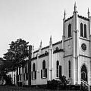 Waddell Memorial Church Founded 1874 Art Print