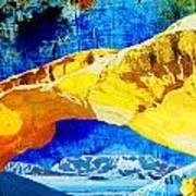 Wadi Rum Natural Arch Art Print