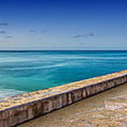 Waikiki Beach Walk Panoramic Art Print