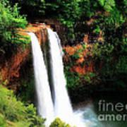 Wailua Falls Art Print