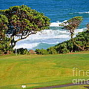 Wailua Golf Course - Hole 17 - 2 Art Print