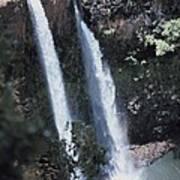 Wailua Waterfall  Art Print