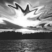 Waining Skies Art Print