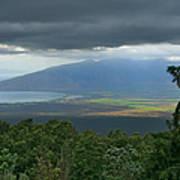Waipoli Kula View Of West Maui From Haleakala Art Print